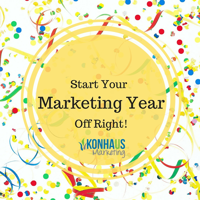 Start Your Marketing Year Off Right