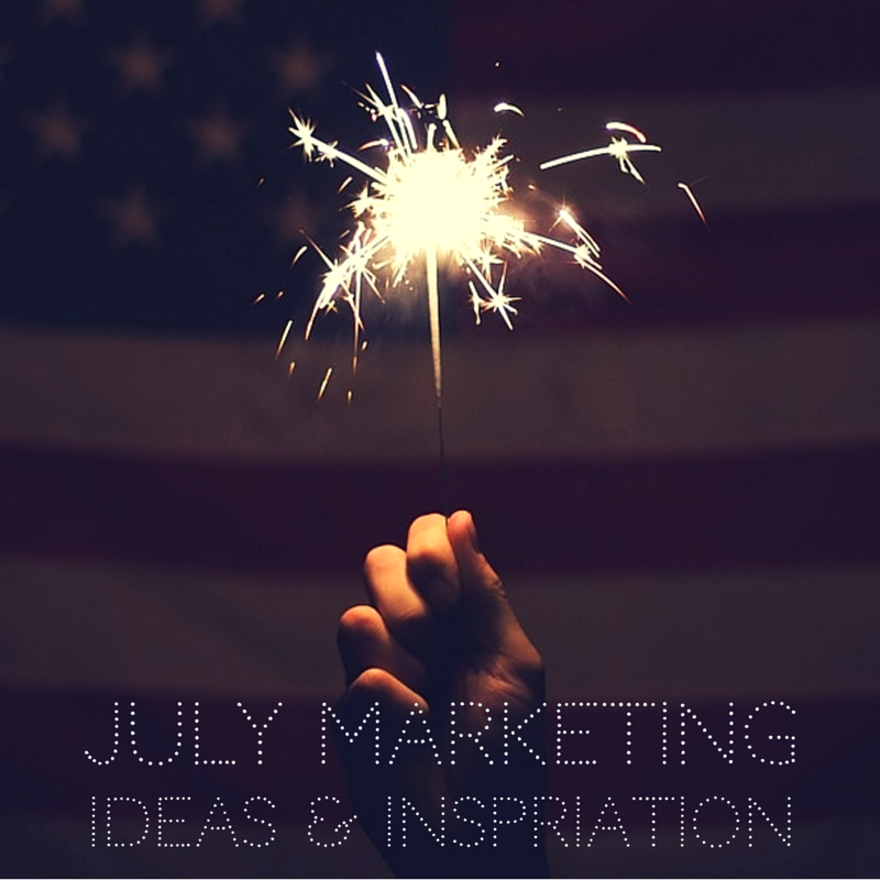 Sparkler July Marketing Inspiration Image