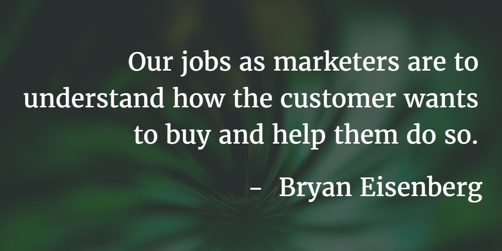 Quote from Bryan Eisenberg