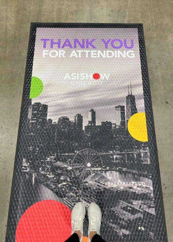 Thank You For Attending Floor Mat
